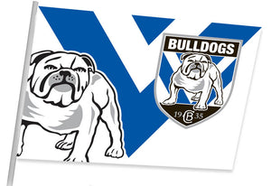 Bulldogs Game Day Flag (87cm x 58cm)