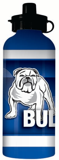 Bulldogs Aluminium Drink Bottle