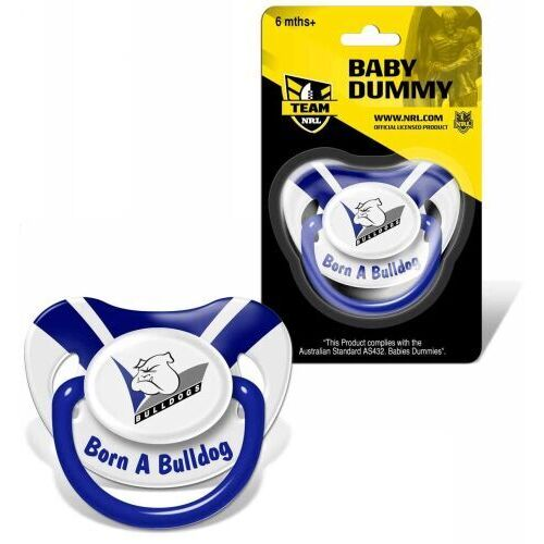 Bulldogs Baby Dummy