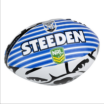 "Bulldogs Sponge 6"" Supporter Ball"