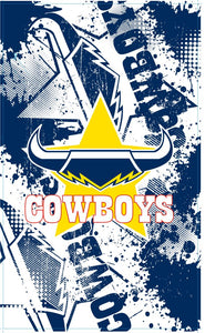 Cowboys Cape Flag (90cm x 150cm)
