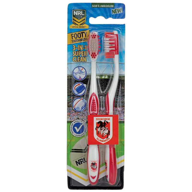 St George Illawarra Dragons Toothbrush