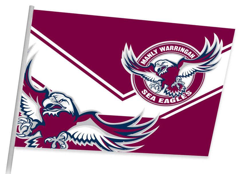 Sea Eagles Game Day Flag (87cm x 58cm)