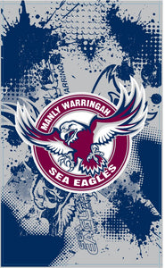 Sea Eagles Cape Flag (90cm x 150cm)