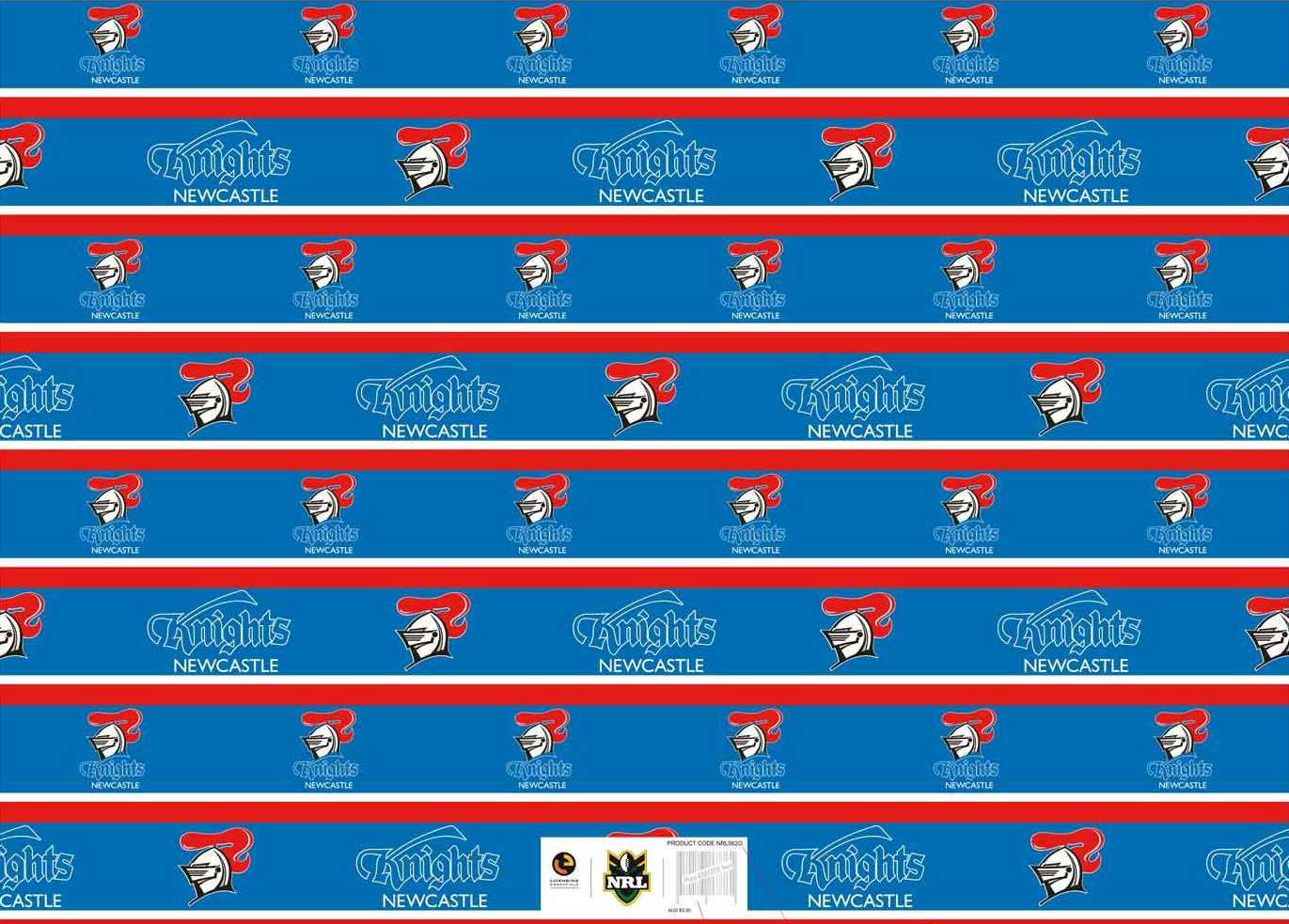 Knights Gift Wrap