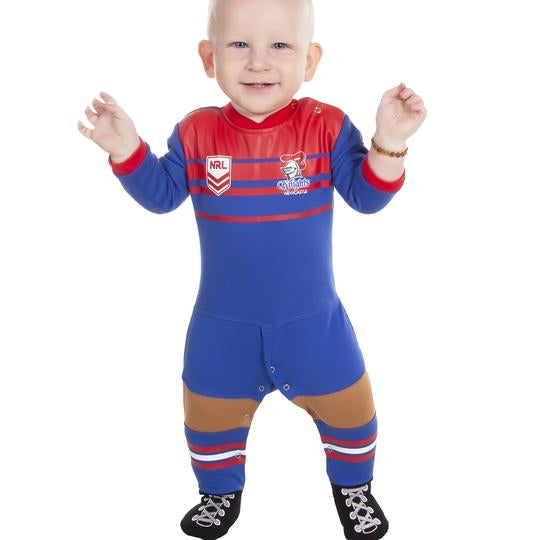 Knights Footy Suit (Full Length) - CALL STORE TO ORDER 9891 2655