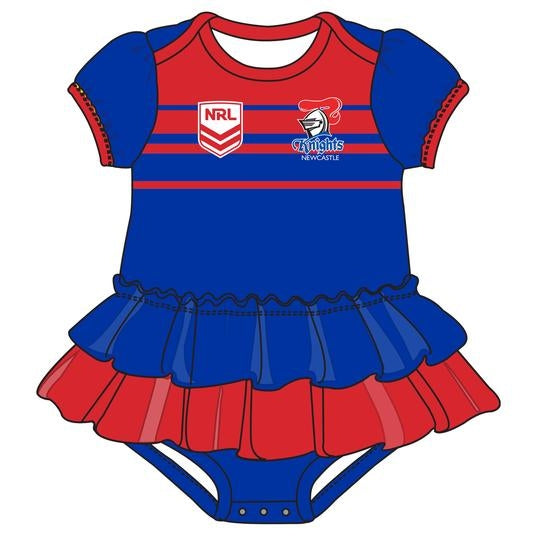 Knights Footy Suit - Girls - CALL STORE TO ORDER 9891 2655