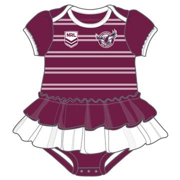Sea Eagles Baby Suit - Girls