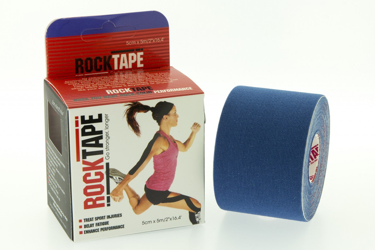 ROCKTAPE 5mx5cm - Navy Blue