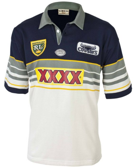 1995 North Queensland Cowboys Retro Jersey