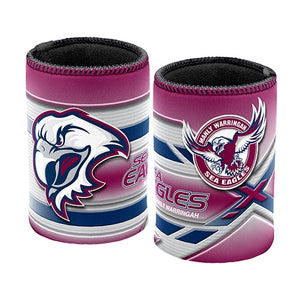 Sea Eagles Can/Stubby Holder
