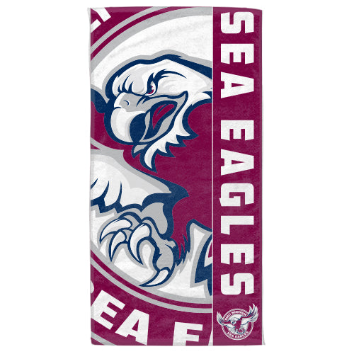 Sea Eagles Beach Towel