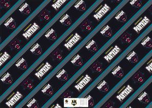 Panthers Gift Wrap