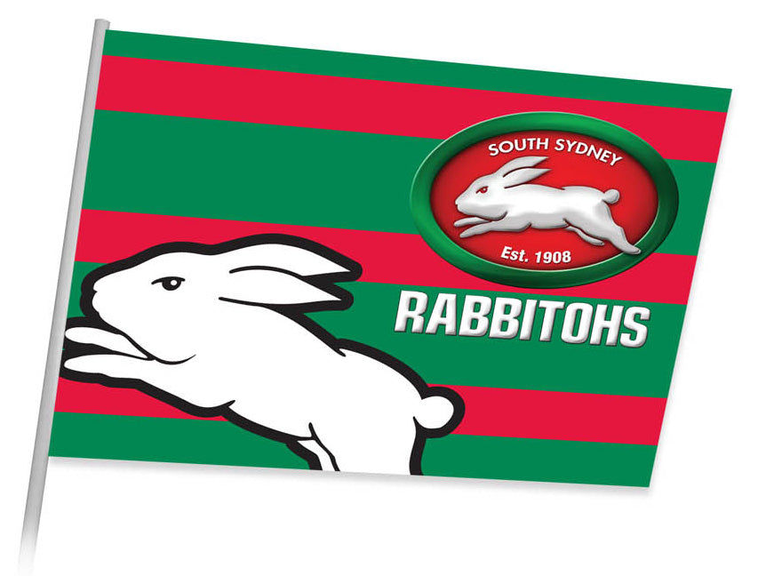 Rabbitohs Game Day Flag (87cm x 58cm)