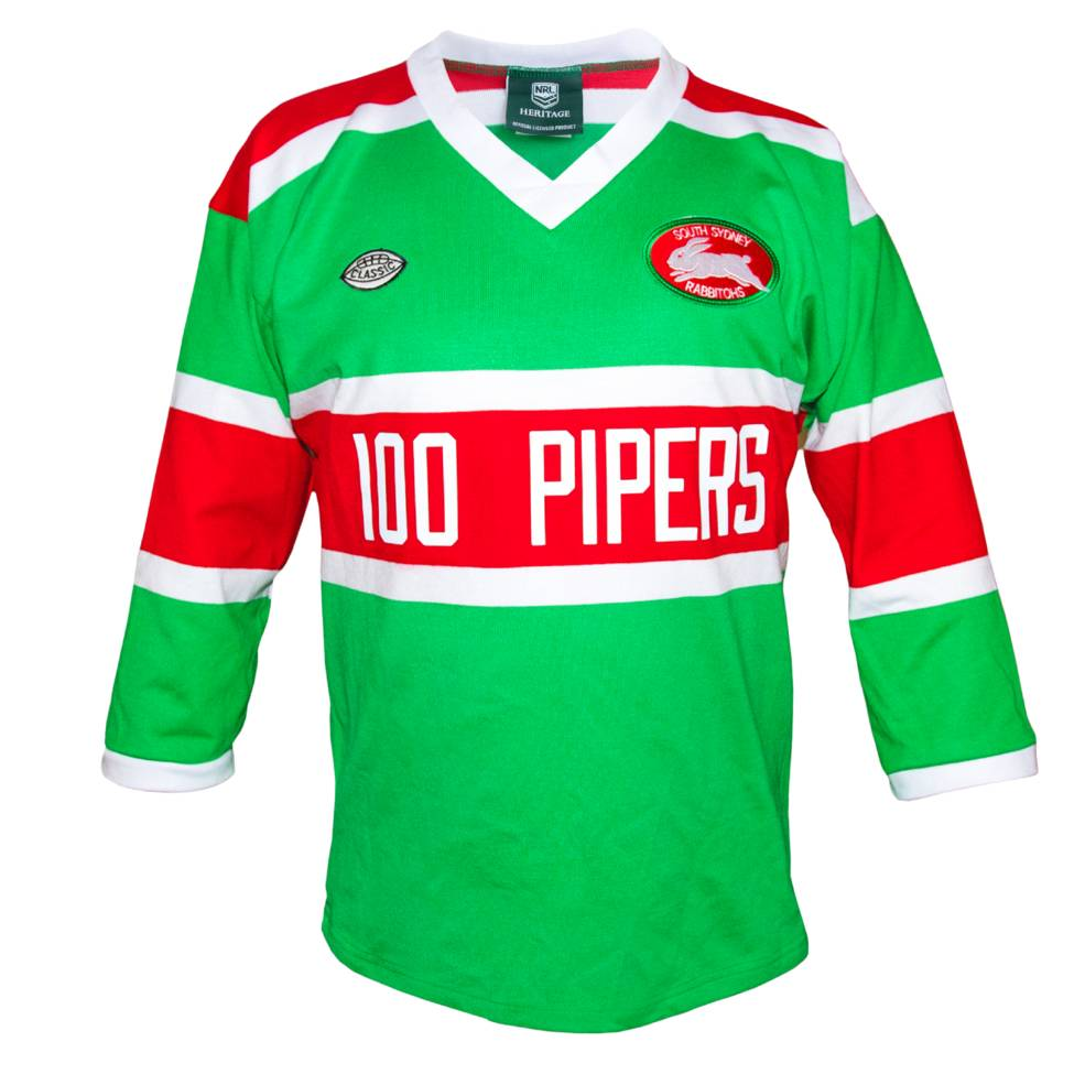 1982 Souths Pipers Retro Jersey