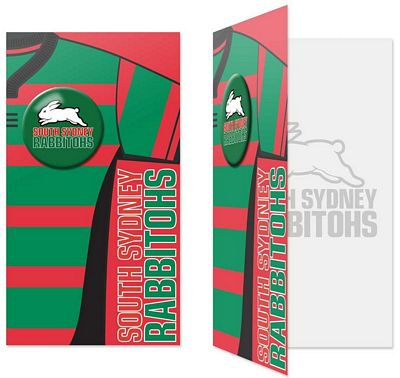 Rabbitohs Gift / Birthday Card