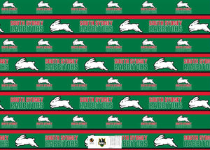 Rabbitohs Gift Wrap
