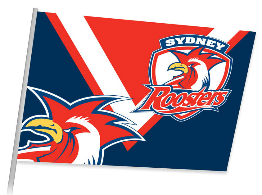 Roosters Game Day Flag (87cm x 58cm)
