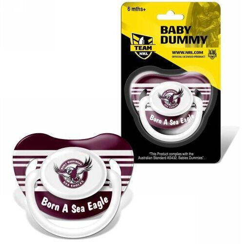 Sea Eagles Baby Dummy