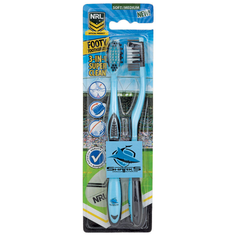 Cronulla Sharks Toothbrush