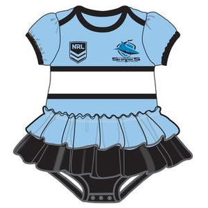 Sharks Footy Suit - Girls - CALL STORE TO ORDER 029891 2655