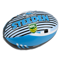 "Sharks Sponge 6"" Supporter Ball"