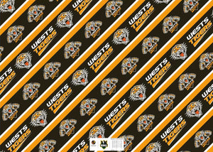 Tigers Gift Wrap