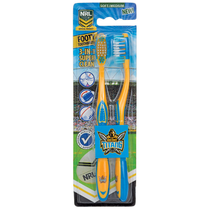 Gold Coast Titans Toothbrush
