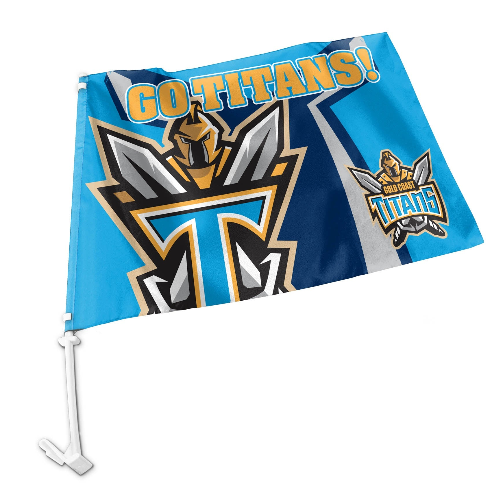 Titans Car Flag