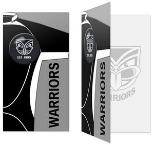 Warriors Gift / Birthday Card