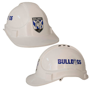 Canterbury Bulldogs Hard Hat Helmet