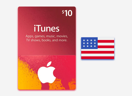 itunes 10 gift card us