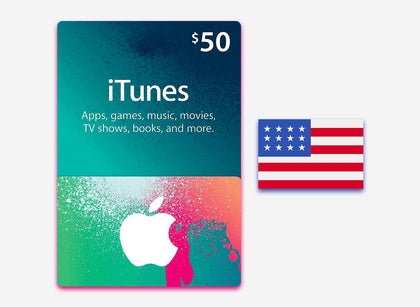itunes 50 gift card us
