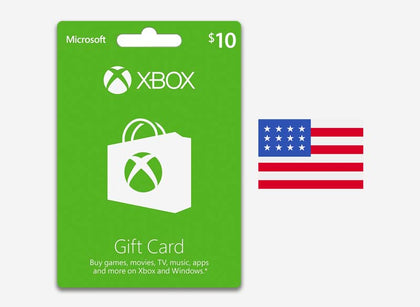 xbox 10 gift card us