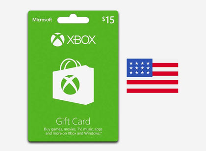 xbox 15 gift card us