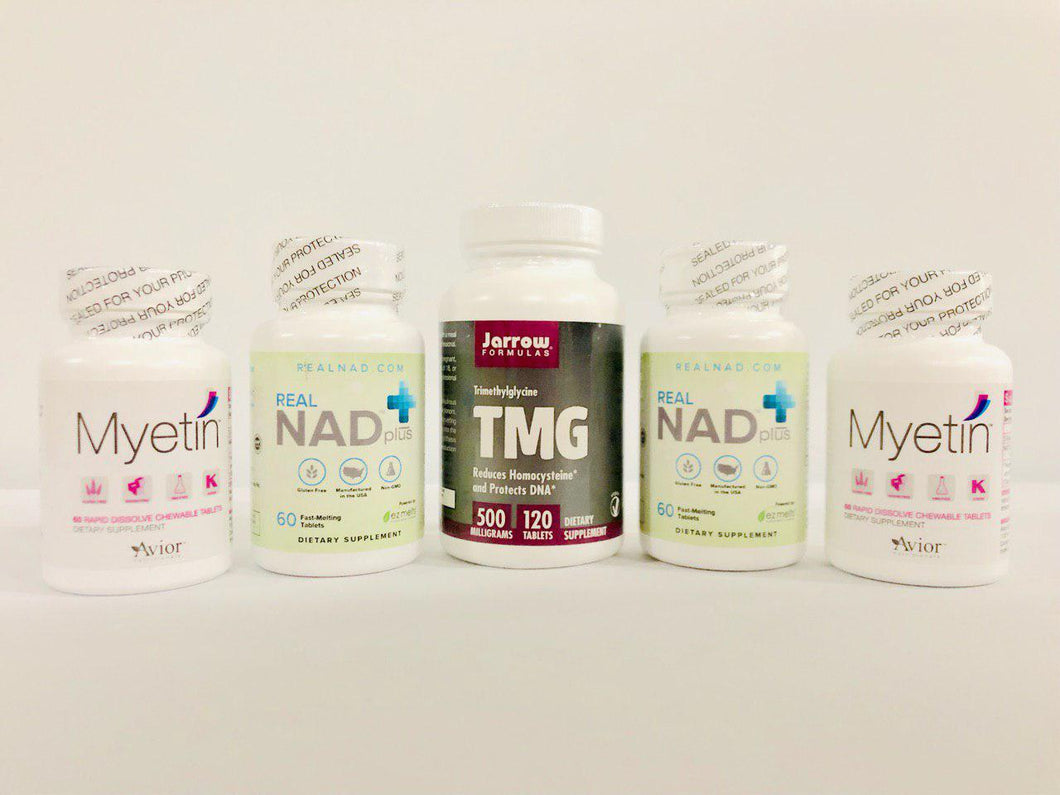 RealNAD+ Pain & Neurological Conditions Package - 60 Day Supply