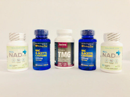 RealNAD+ Anti-Aging and Immunity Package - 60 Day Supply