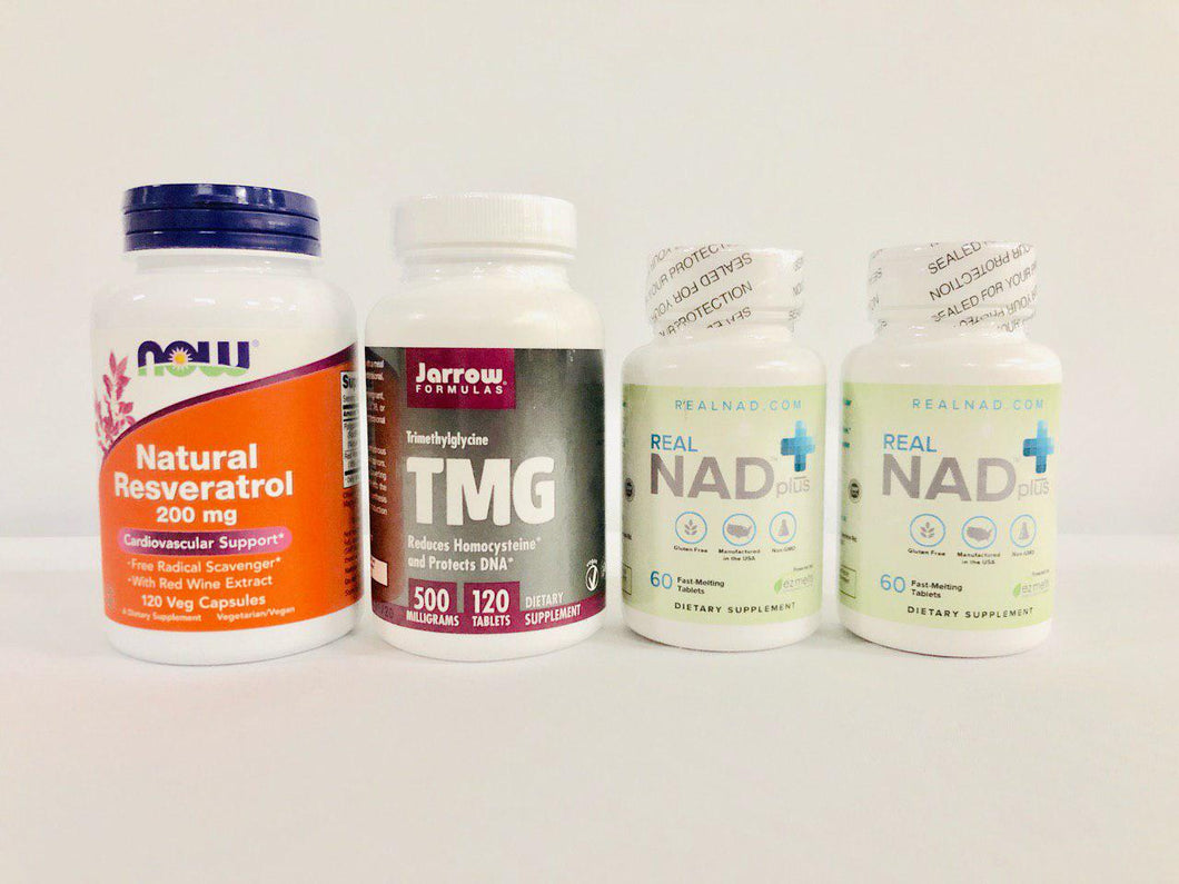 RealNAD+ Cardiovascular Health, Energy & Focus Package - 60 Day Supply