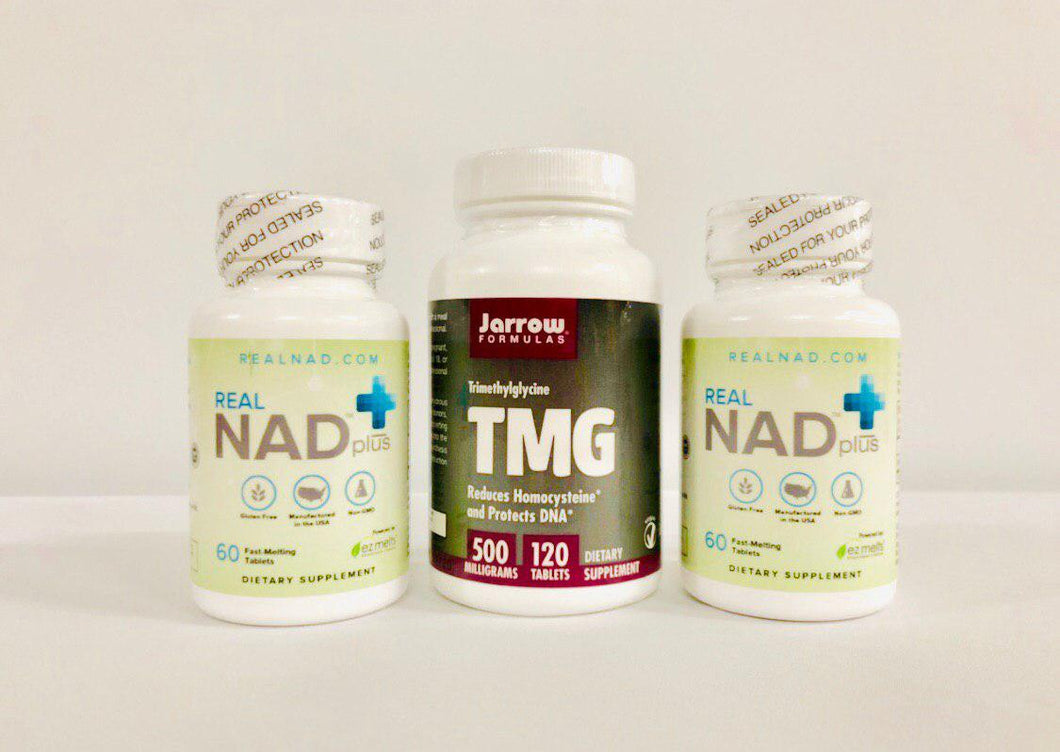 RealNAD+ Mind and Body Package - 60 Day Supply