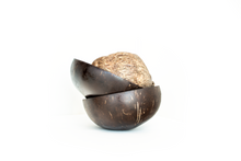 Load image into Gallery viewer, Set of 4 Coconut bowls - Buy Online