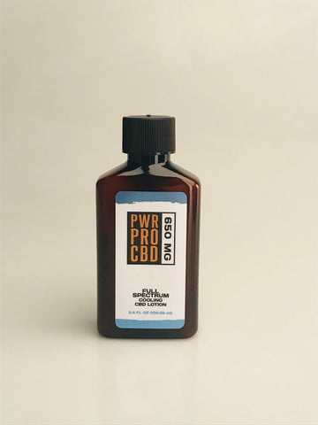 PWR Pro 650MG Full Spectrum Cooling Lotion - PWR Pro CBD
