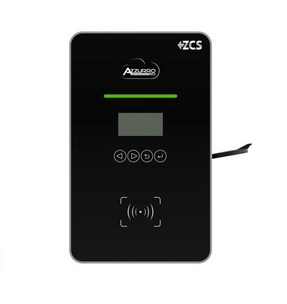 Azzurro Wallbox/Ladestation 22 KW | ZCS-AC022K-BE-24 - Azzurro Deutschland