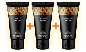 3 x Titan Gel Gold