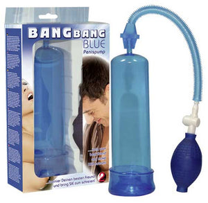 BANG BANG BLUE PENISPUMP