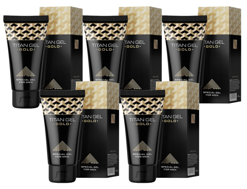 5 x Titan Gel Gold
