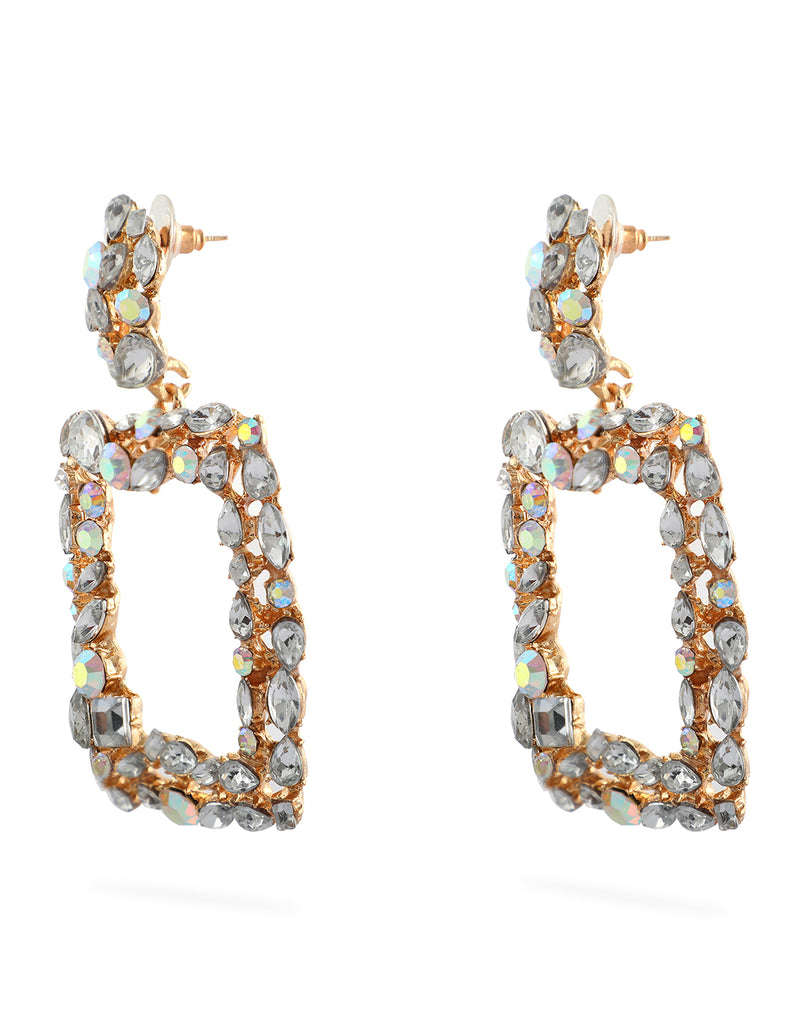 Crystal Glamour Earrings
