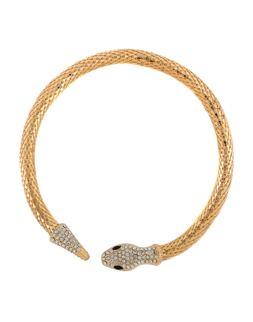 Gold Snake Necklace