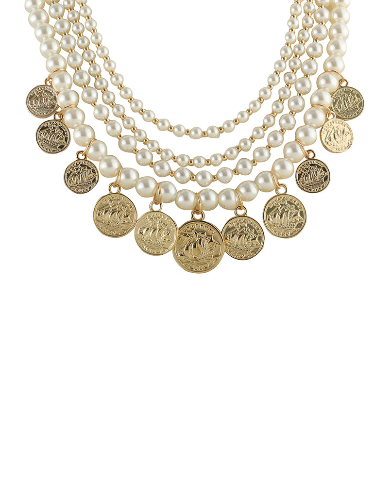 Pearl Glamour Necklace