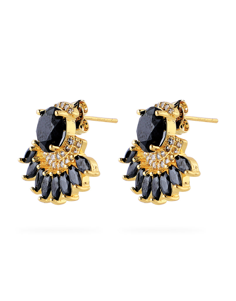 18K Yellow Gold Plated Aurora Earrings