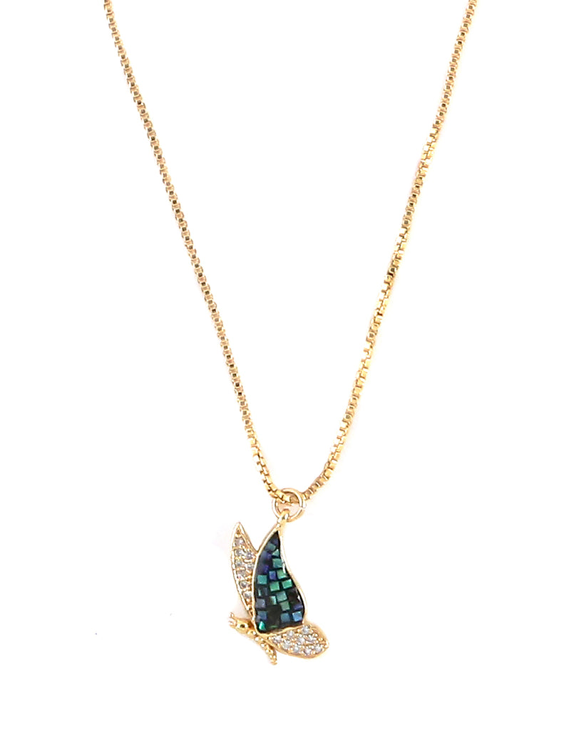 18K Gold Plated Dove Necklace